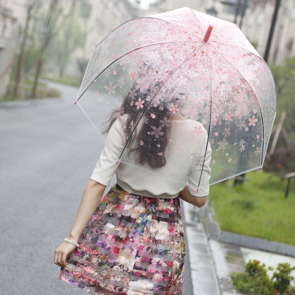 傘 ピンク 桜 春 お花見 雨具 女性 レディース 可愛い ガーリー グッズ 【通常便なら送料無料】春を待たずしてお花見気分が味わえます