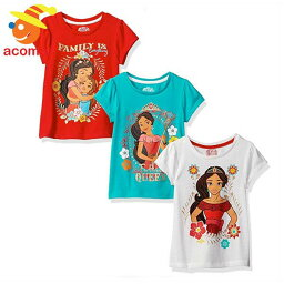 子供 Tシャツ アバローのプリンセス エレナ 3枚 セット