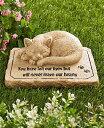 ペット メモリアル グッズ 猫 お墓 墓石 You have left our lives but will never leave our hearts