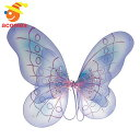 羽根 ウイング 蝶 羽 翼 チョウ 妖精 コスプレ グッズ パープル 紫 ハロウィン イベント パーティー