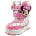 子供 冬 靴 スノーブーツ ミニーマウス 女の子 ディズニー...