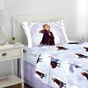 アナ雪 ディズニー シーツセット シングルサイズ 寝具 アナと雪の女王 Disney Frozen 2 通常便は送料無料