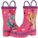 ショッピングパウパトロール パウパトロール グッズ 長靴 子供用 雨具 レインブーツ スカイ エベレスト ピンク 通常便は送料無料