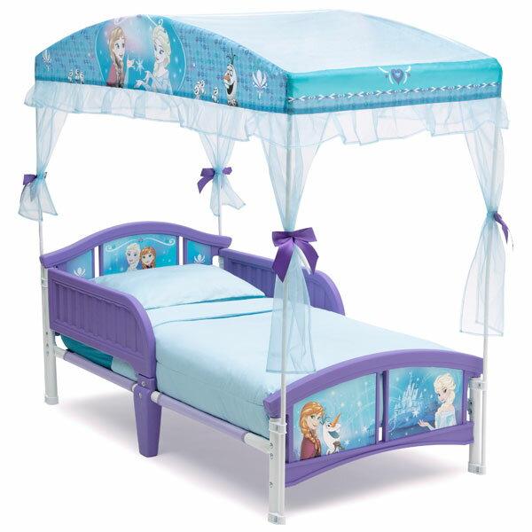 デルタディズニー アナと雪の女王 天蓋付き幼児用ベッド