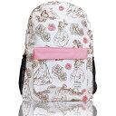 ショッピングナップサック 母の日 リュック ラウンジフライ × ディズニー 美女と野獣 プリンセス バックパック ベル ピンク