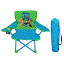 ショッピングパウパトロール パウパトロール グッズ 折り畳み 椅子 チェア キャノピー キャリーバッグ付き 子供用 キャンプ ピクニック ビーチ チェイス 通常便は送料無料