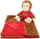 おさるのジョージ ブランケット & ぬいぐるみ 27cm 毛布 子供 寝具 通常便は送料無料