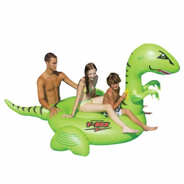 ティラノサウルス ジャイアント 浮き輪 水遊び プール 海水浴 海 ウォーターフロート 恐竜