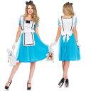 玩具, 興趣, 遊戲 - 不思議の国のアリス コスチューム ドレス 大人 女性用 衣装 ハロウィン コスプレ 仮装