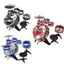 本格派 ドラムセット 11ピース 楽器 パーカッション 打楽器 子供用 音楽 ロック おもちゃ 知育玩具 クリスマス プレゼント ギフト