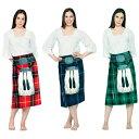 ハロウィン キルト タオル 赤 青 緑 コスプレにも使える スコットランド 民族衣装 コスチューム ビーチタオル バスタオル