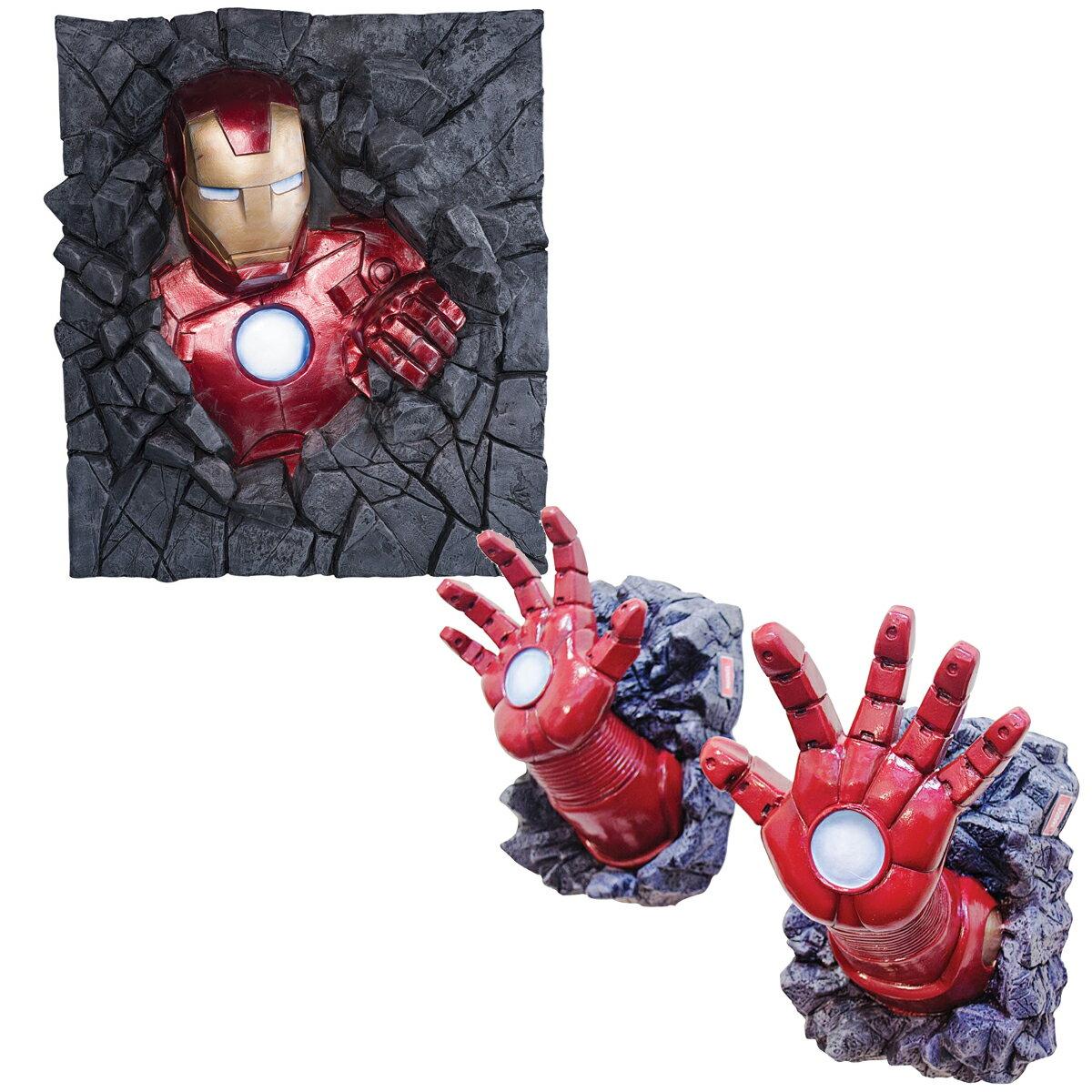 アイアンマングッズ立体3D壁飾り装飾ウォールデコレーションアベンジャーズキャラクターアメコミ海外コミ