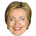 ヒラリー クリントン ペーパー マスク 顔 お面