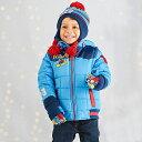 ミッキーマウス ダウンジャケット アウター 子供服 冬服 ディズニー キッズ ファッション アパレル グッズ 青 ブルー
