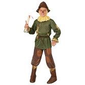 オズの魔法使い かかし 衣装 キッズ 子供用 ハロウィン 衣装 コスチューム