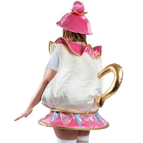 ポット婦人 美女と野獣 コスチューム 衣装 子供用ディズニー キャラクター ミセスポットコスプレ 仮装 ハロウィン
