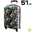ショッピングキャス ミッキーマウス ミッキー ポップアート キャスター付きスーツケース 機内持ち込み可サイズ 20インチ ラゲージ 旅行用かばん キャリーバッグ グッズ コレクターズアイテム