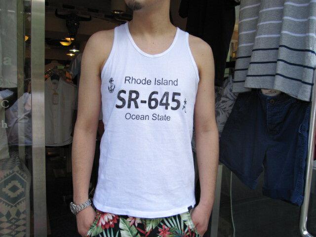 SMART SPICE(スマートスパイス)RHODE ISLAND TANK TOP【限定生産タンクトップ】【日本製】