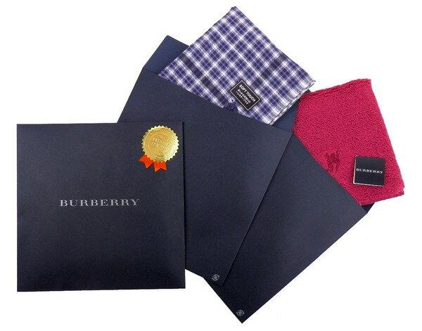 バーバリー BURBERRY 専用パッケージ 単品ハンカチ同時購入限定 PA001【楽ギフ_包装】