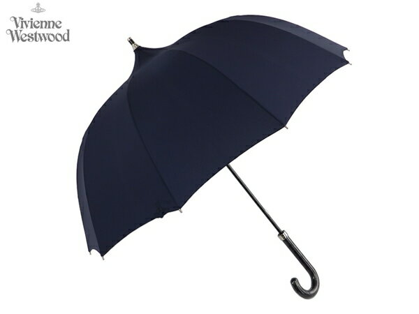 ヴィヴィアンウエストウッド Vivienne Westwood MAN メンズ雨傘16,200円以上で送料無料 無料ラッピング指定可 明日楽対応商品 v0890 【 プレゼント ブランド オーブ 雨傘 新作 メンズ 】 グラスファイバー骨使用の軽量タイプ!UVカット加工で日傘としてもご使用いただけます!手