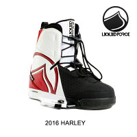 2016 LIQUID FORCE リキッドフォース バインディング BINDING HARLEY WHITE/RED/BLACK 10-11の画像