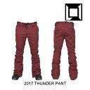 2017 L1 エルワン パンツ THUNDER PANT OXBLOOD align=
