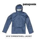 2018 PATAGONIA パタゴニア ジャケット TORRENTSHELL JACKET DLMB DOLOMITE BLUE