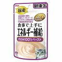 (まとめ)国産健康缶パウチ エネルギー補給ささみペースト 40g【×48セット】【ペット用品・猫用フード】