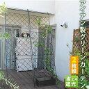 アイアン製グリーンカーテン 2枚組フェン