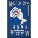 珠寶, 手錶 - Toronto Blue Jays 11 x 19 Coordinate Sign ユニセックス