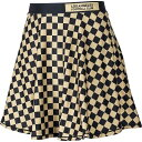 ZooZatz LAFC Women's Black/Gold Circle Mini Skirt ユニセックス