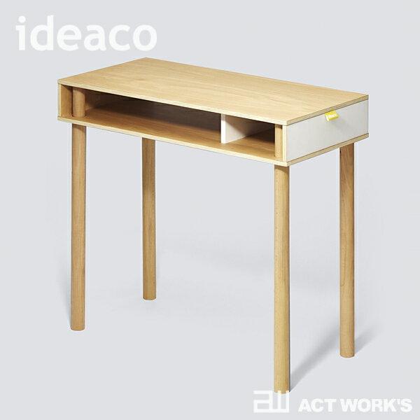 《全2色》ideaco Pallet Table PC High -PLYWOOD Series- 【デザイン雑貨 北欧 イデアコ パソコンデスク リビング インテリア 学習机 PCテーブル ドレッサー コンパクト プライウッド】