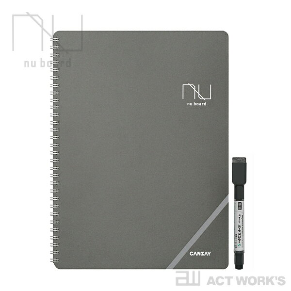 CANSAY nu board A4判 ヌーボード 【欧文印刷 筆記用具 ステーショナリー…...:actplus:10001145
