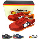 アトランティックスターズ Atlantic STARS メンズ mens スニーカー レッド 雑誌掲載モデル ANTARES アンタレス