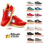 アトランティックスターズ Atlantic STARS 全15色 メンズ スニーカー レッド ブルー グリーン グレー チャコール ピンク ブラック カーキ ホ...