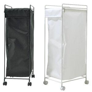 ランドリー バスケット ボックス ホワイト ブラック