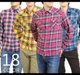 ネルシャツ メンズ チェック ネイビー フランネルシャツ ウエスタンシャツ ホワイト ネル生地 フランネル シャツ カジュアル ウエスタン 長袖 シャツ 大きいサイズ LL XXL