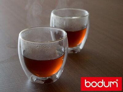 ボダム パヴィーナダブルウォールグラス2個セット<270ml>