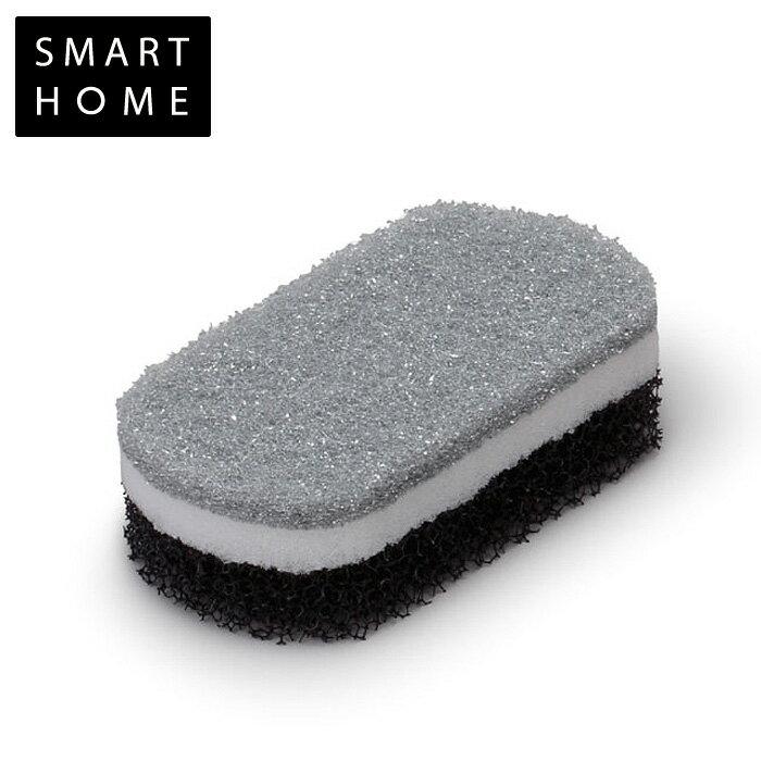 SMART HOME/スマートホーム トリプルスポンジ 【TRIPLE SPONGE】<ブラック>【 アドキッチン 】