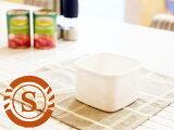 **野田琺瑯 ホワイトシリーズ スクウェア S ( WS-S ) 【 野田ホーロー NodaHoro 保存容器 ホーロー 長方形 ガラス素材 日本製 洋食器 ブランド食器 北欧 お