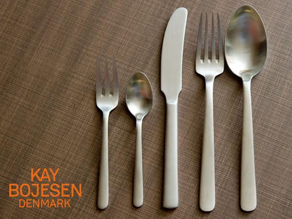 カイボイスン おためし5本セット つや消し 【 Kay Bojesen セット 食器 洋食器 ブランド食器 北欧 おしゃれ お洒落 収納 シンプル 】