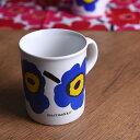 【 アンティーク 】 マリメッコ MADE IN ENGLAND ヴィンテージウニッコマグ < ホワイト/ブルー > 《 ビンテージ vintage ヴィンテー...