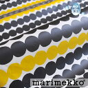 [3000円以上 エントリーでP3!1/29 9:59まで][ 1.5mまで メール便 送料無料 ] マリメッコ ( marimekko ) RASYMATTO ラシィマット コーティング生地 ( 30cm以上〜10cm単位で切り売り ) [ ファブリック ] [ 北欧 布 はっ水加工 撥水加工 ] ブラック&イエロー [ アドキッチン ]