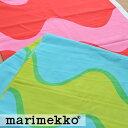 《1.5mまでメール便送料無料》MARIMEKKO マリメッコ LOKKI ロッキ 生地 選べる2色 (30cm以上〜10cm単位で切り売り) 《 ファブリック 》 【 グリーン ピンク 廃盤 北欧 布 ブランド フィンランド 】