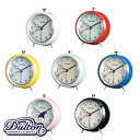 DULTON ダルトン アラーム クロック クォーツ 100053Q 選べる7色 アラームクロック 時計 目覚まし時計 とけい