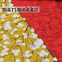 RoomClip商品情報 - 《1.5mまでメール便送料無料》MARIMEKKO マリメッコ MARIMEKKO LUMIMARJA ルミマルヤ コットンサテン生地 選べる2色 (30cm以上〜10cm単位で切り売り) 《 ファブリック 》 【 マスタード レッド 布 フィンランド 北欧 おしゃれ シンプル 】