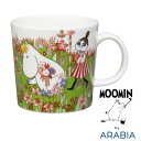 アラビア 2016夏季限定 ムーミン マグ ミッドサマー 夏至 300mL (100218 ) 【 Arabia ARABIA arabia moomin フィンランド 北欧 】