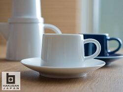 **白山陶器M型カップ&ソーサー