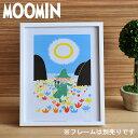 MOOMIN/ムーミン カラーミニポスター 【moomin/北欧/PUTINKI/プティンキ】(1510352)<スナフキンの横笛>