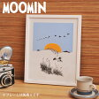 ムーミン ミニポスター ( 1510510-P ) < ニョロニョロの行進 > 【 moomin MOOMIN 北欧 PUTINKI プティンキ フィンランド 】